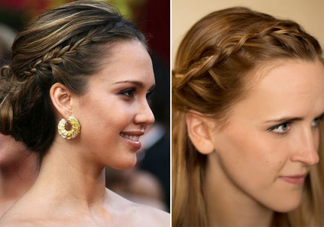 The Braid Breakdown! Everything I've been seeing including the French Braid, Inverted French Braid, Fishtail Braid, Twist Braid, Waterfall Braid, & One-sided braid. Pics and Videos. <3