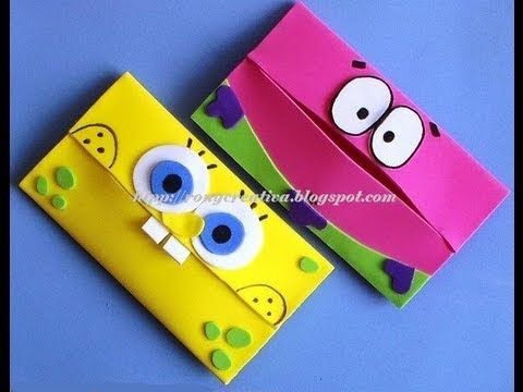 ▶ PORTAKLEENEX INFANTIL/ SpongeBob carries scarves DIY - YouTube