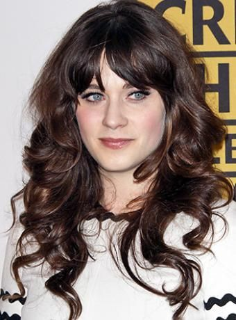 hair styles with bangs 419 best images about zooey deschanel on 1105