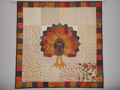 Turkey Quilt Quilted Wall Hangings Pinterest Wall