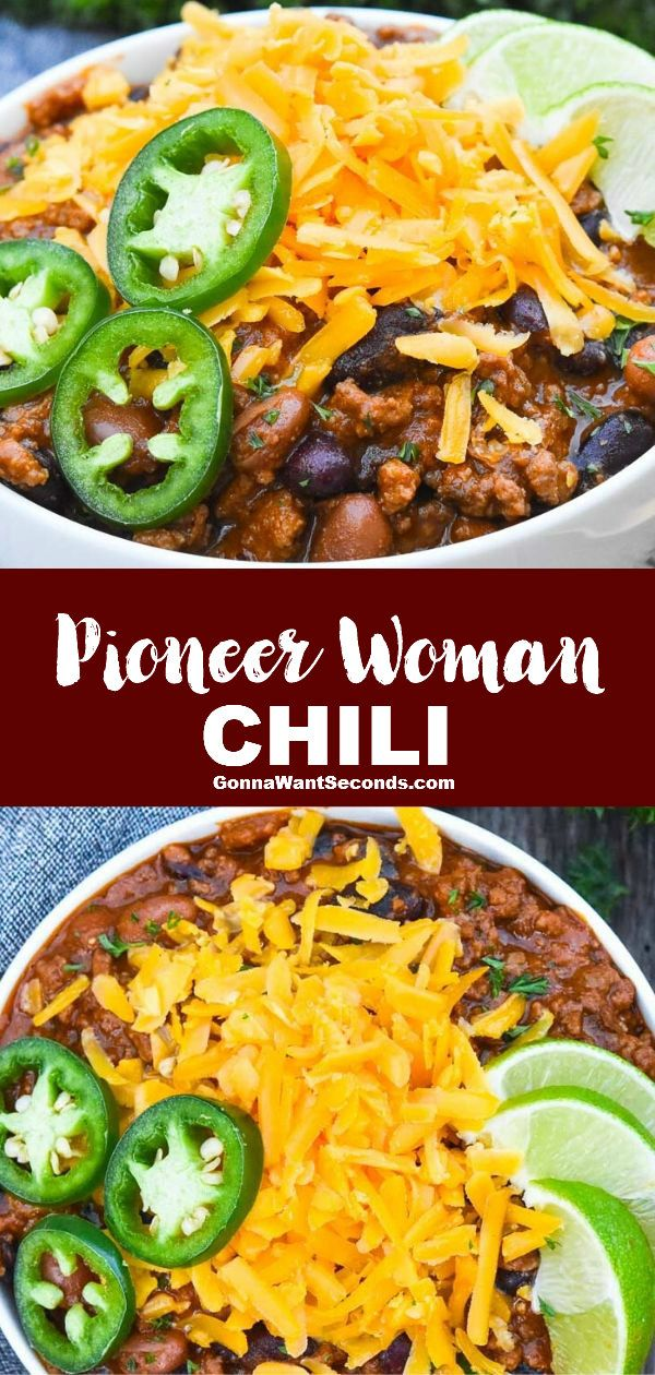 Pioneer Woman Chili Prep Time 15 Mins Recipe Chili Recipe Pioneer Woman Slow Cooker Chili Recipe Pioneer Woman Chili