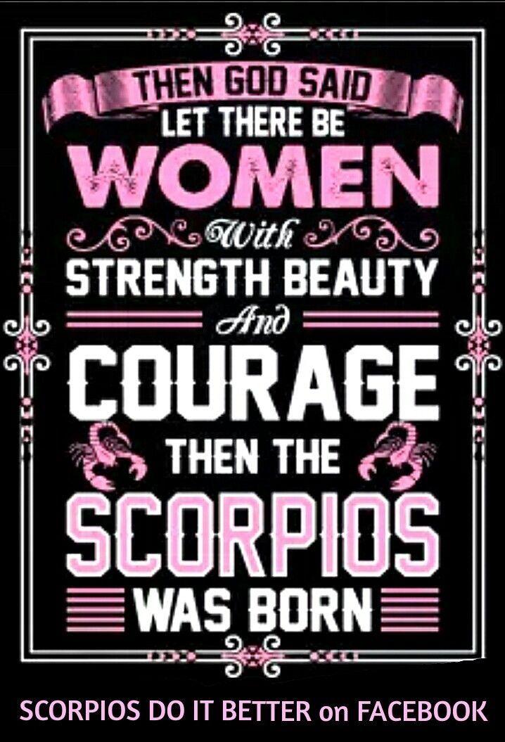 Scorpios rule