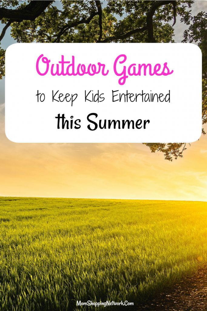 These outdoor games will keep your kids entertained all summer! Summer Fun|Summer Games|Summer fun for kids|Summer fun outdoors|outdoor summer fun|Summer fun ideas