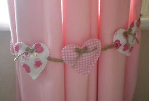 Pretty Heart Shaped Curtain Tie Backs by lauramaidens on Etsy, £8.00
