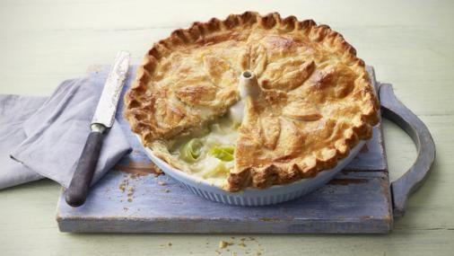 BBC Food - Recipes - Potato, leek and cheese pie