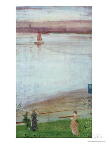 Variations in Violet and Green, 1871 Giclee Print by James Abbott McNeill Whistler at AllPosters.com