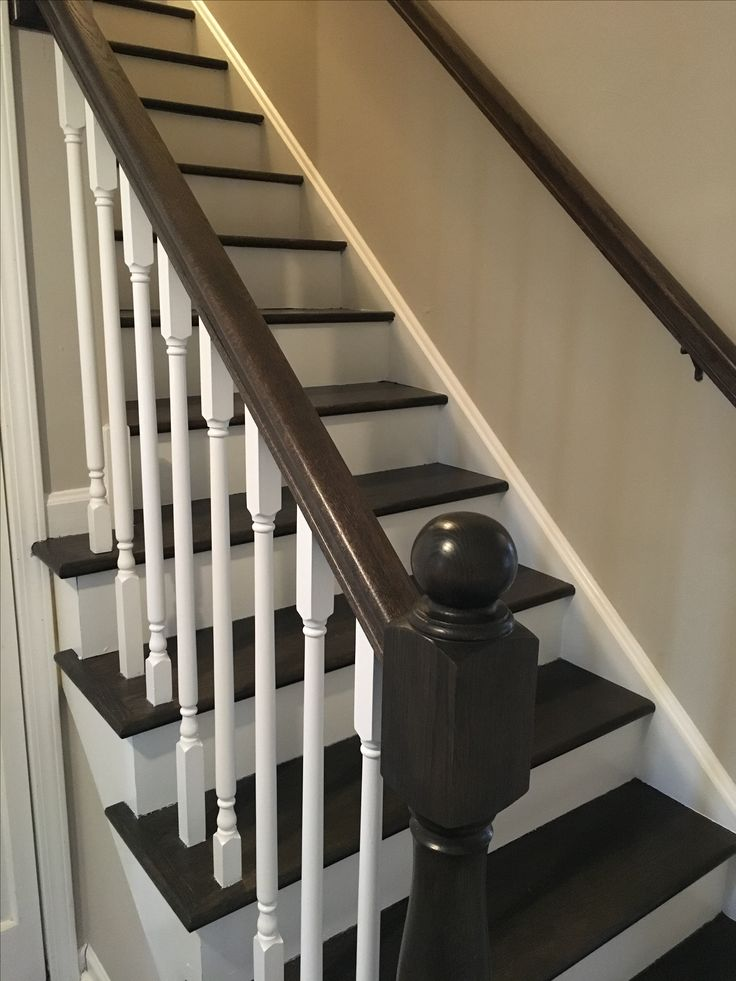 Best Picture Perfect Stairs Are Done Stain Is A Combination Of 640 x 480