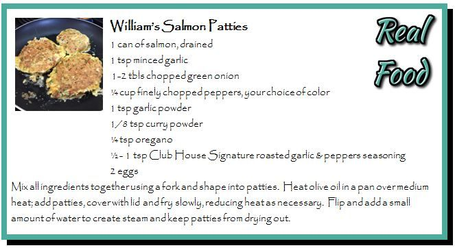 William's Salmon Patties