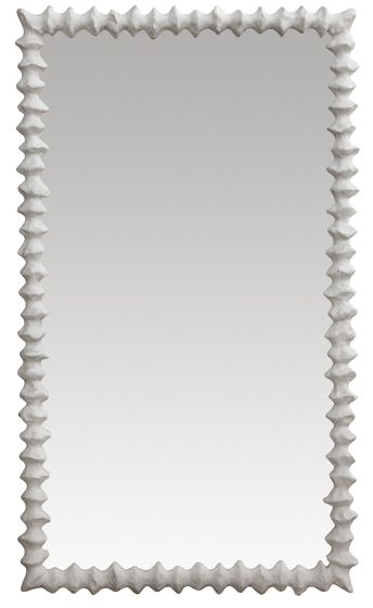 Clyde Mirror Small - cast resin frame
