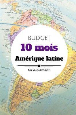 10 mois de voyage en Amérique latine: le budget détaillé, pays par pays.
