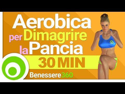 Esercizi Cardio per Dimagrire la Pancia - 30 Minuti - YouTube