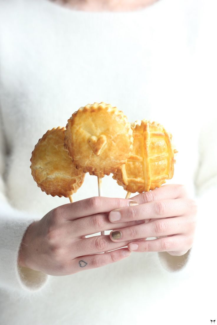 Une touche de rose ENG: Making lollies with Pie Puff