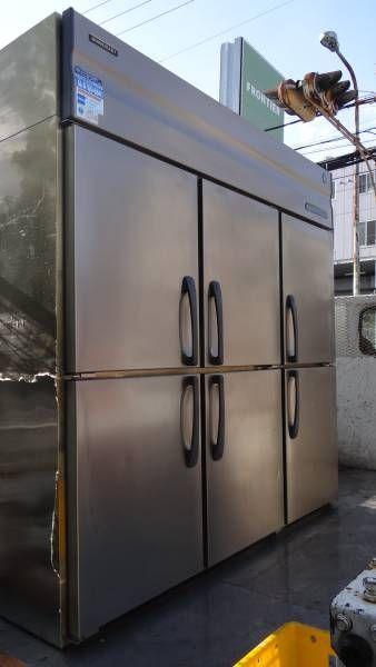 ホシザキ 業務用 冷凍冷蔵庫 6扉 4冷2凍 HRF-180SFT 中古_画像1