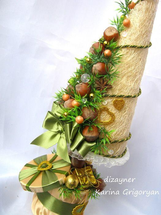 (32) Gallery.ru / Фото #74 - Новогодние из конфет - grigoran-karina