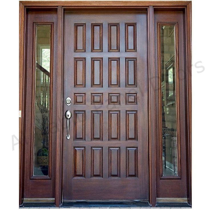 Dayar wooden front door hpd458 solid wood doors al for Wood doors in pakistan