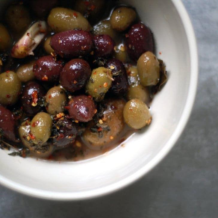 Killer App: Spicy Marinated Olives