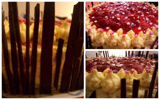 tort truskawkowy z galaretka
