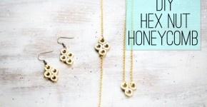 DIY Hex Nut Bracelet - Henry Happened