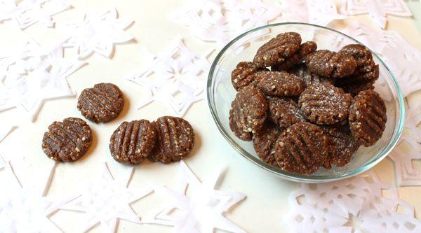 Økosjokolades rå pepperkaker