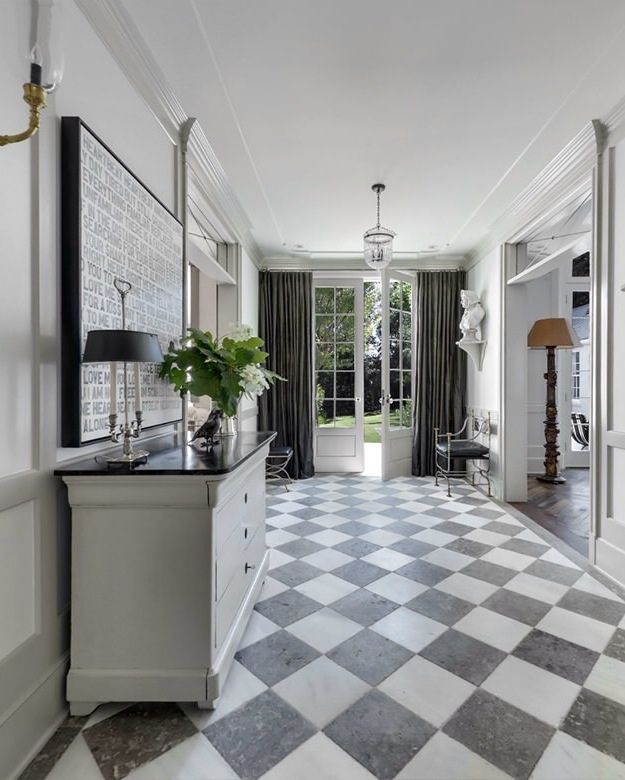 Foyer And Entrance Of The Windsor Hotel : Mudroom gwyneth paltrow windsor smith house in