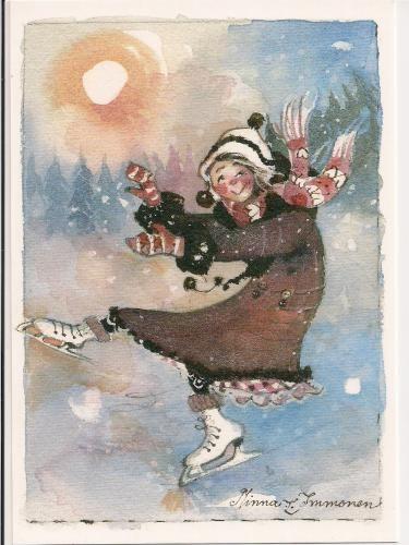 Finnish artist/illustrator Minna Immonen