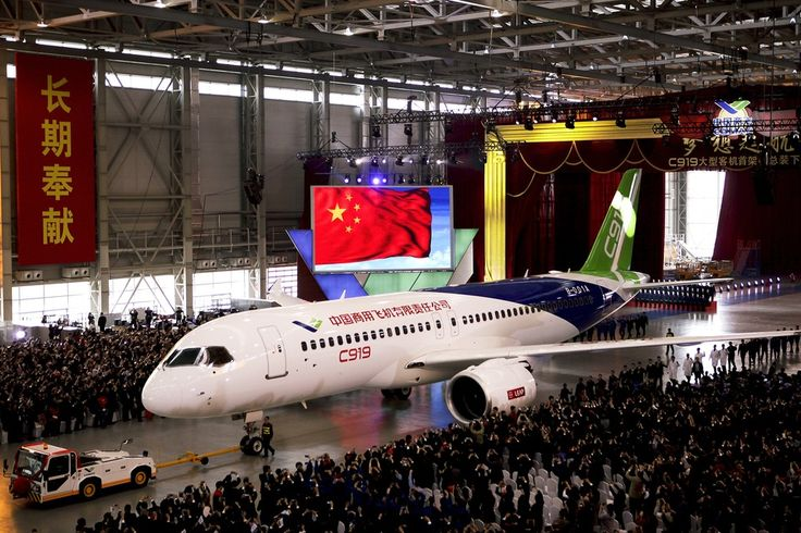 Commercial Aircraft Corp of China (Comac) C919
