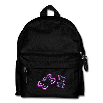 Mochila Mariposas - Bag Butterfly - #Shop #Gift #Tienda #Regalos #Diseño #Design #LaMagiaDeUnSentimiento #MagiaYColor #ElBosqueDeXana #MaderaYManchas #mariposa #butterfly #transformación #rosa #bag #mochila #backpack #black #pink #school #b2school