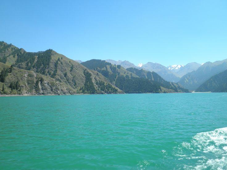 ウイグル自治区ウルムチ ボゴタ湖