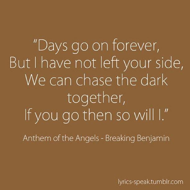 Anthem of the Angels Lyrics