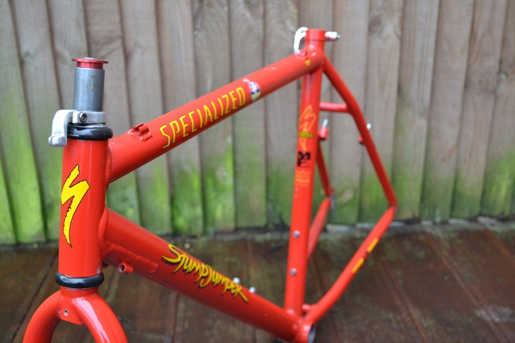 #1994 Specialized Stumpjumper M2 retro mountain bike frame Like, Repin, Share, Follow Me! Thanks!