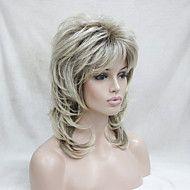 nieuwe+blonde+met+donkere+wortel+halflang+cascade+lagen+synthetische+volledige+pruik+van+haar+vrouwen+–+EUR+€+34.30
