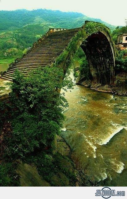 Ponte da Dinastia Ming, China. || Ming Dynasty Bridges, China