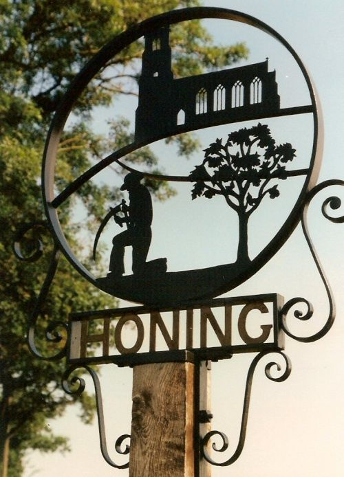 Honing Village Sign A picture of: Honing, Norfolk