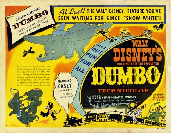 Disney Movie Posters: 17 Best Images About Dumbo (1941) On Pinterest