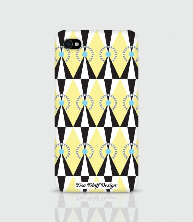 Yellow Circus, a colorful iPhone case inspired by a circus tent. Designed by Lisa Edoff Design #nordicdesigncollective #yellow #trend #trendcolor #trendcolour #easteryellow #easter #iphone #iphonecase #iphone4 #iphone4s #iphone5 #iphone5s #circus #circustent #mobileaccessories #accessory #green #black #lisaedoff #lisaedoffdesign