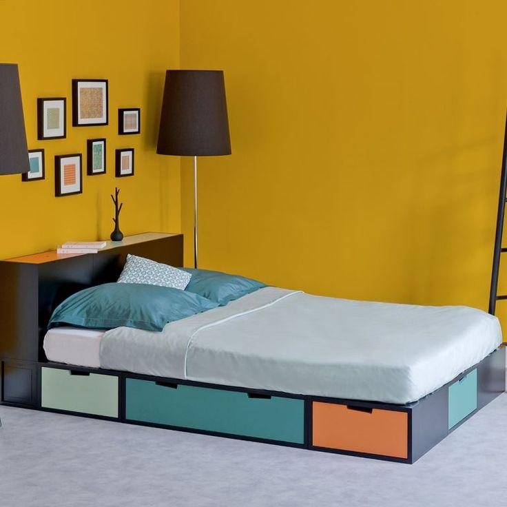 lit cach sous podium finest betonov strka do koupelny. Black Bedroom Furniture Sets. Home Design Ideas