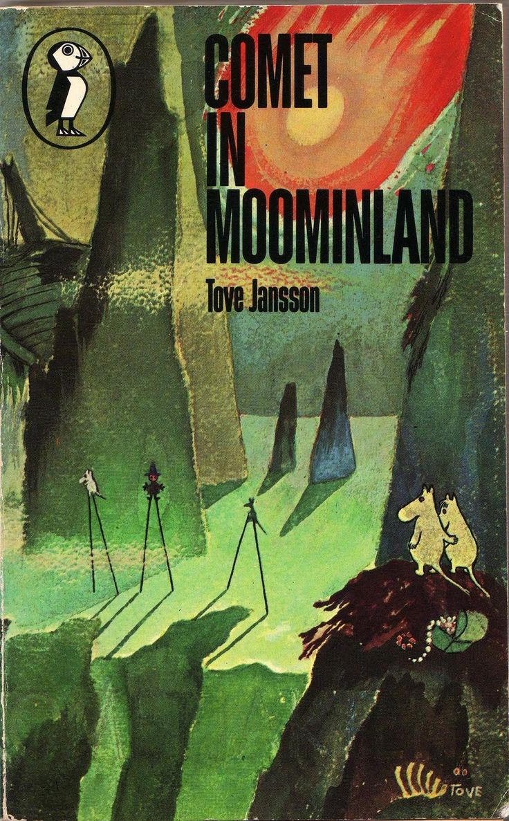 DUSTY OLD BOOKS: Marvellous Moomins 2: Comet in Moominland