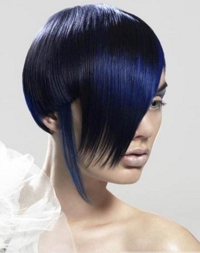 25 ide terbaik blue hair highlights di pinterest peekaboo funky blue hair highlights pmusecretfo Gallery