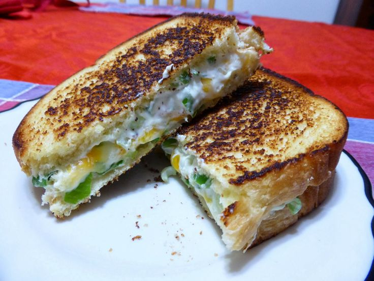 Jalapeno Popper Grilled Cheese Sandwich | Holy Cannoli Recipes | Pint ...