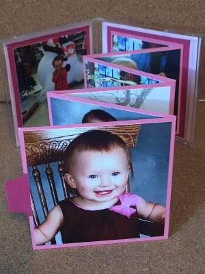 Kathie's Cards: CD Jewel Case: Father and Daughter Photo Album