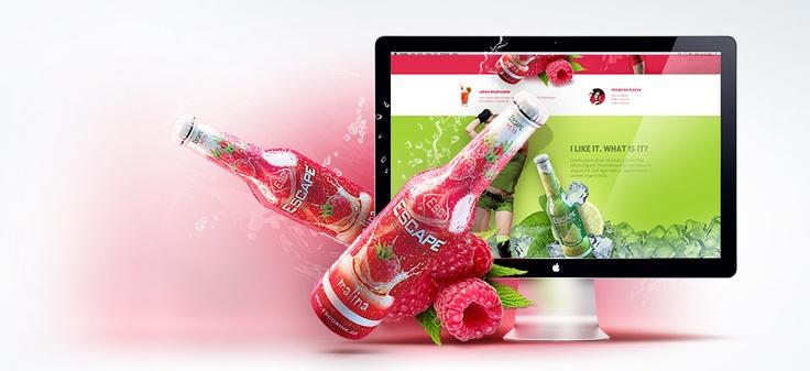 Escape drink | Art4web | Creative digital agency