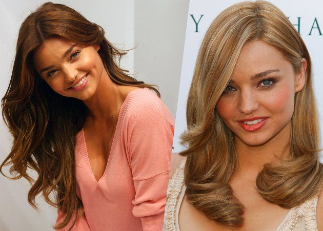 Celebrity Hair: Miranda Kerr's Hair Color