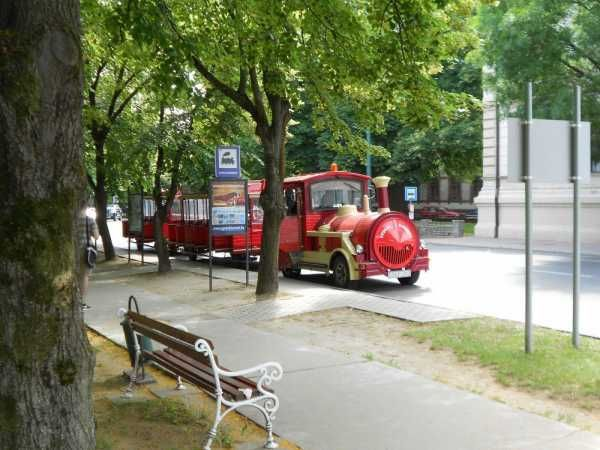 Trenulet turistic Gyula