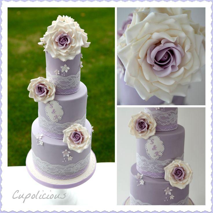 Vintage Lilac cake
