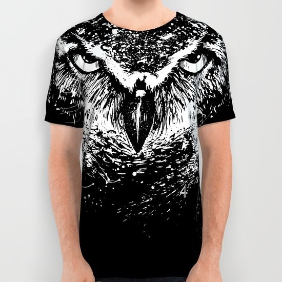 available as all over print shirt and more grab here http://society6.com/product/owlution_all-over-print-shirt#57=422