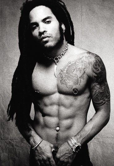 Lenny Kravitz is hot, that is all!   Always has been!  That body is on fire!  Love him!