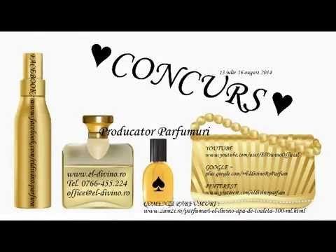 Concurs-Aroma Orientala-producator roman de parfumuri El-Divino