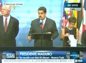Nicolás Maduro se presentó en la ONU como lo que es, sin clase, prepotente y patán