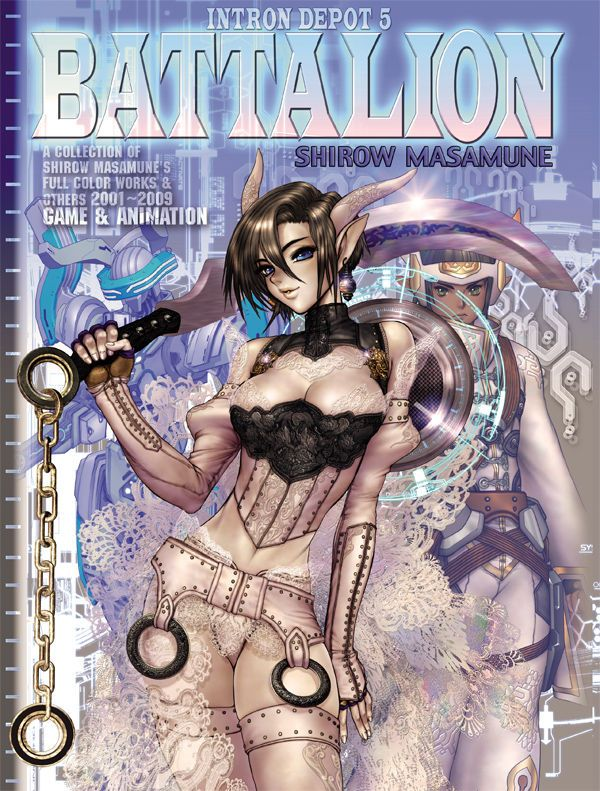 Masamune Shirow, creator of Ghost in the Shell and Appleseed, is legendary amongst manga and anime enthusiasts, and his game-industry credentials are equally impressive. Battalion presents Shirow's design and conceptual art for Asura Fantasy, RF Online, Fire Emblem, and others, showcasing his stunning illustration and commentary on his sophisticated CG techniques. #art #book