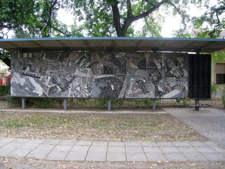 A háború emléke - Gyula (Kohán György, 2004)   Köztérkép